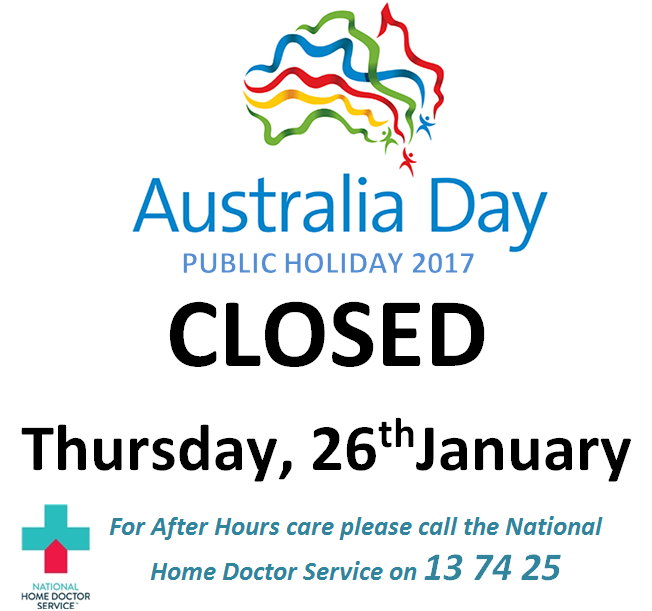 Aus day closed website