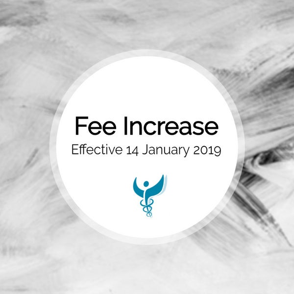 Fee Increase